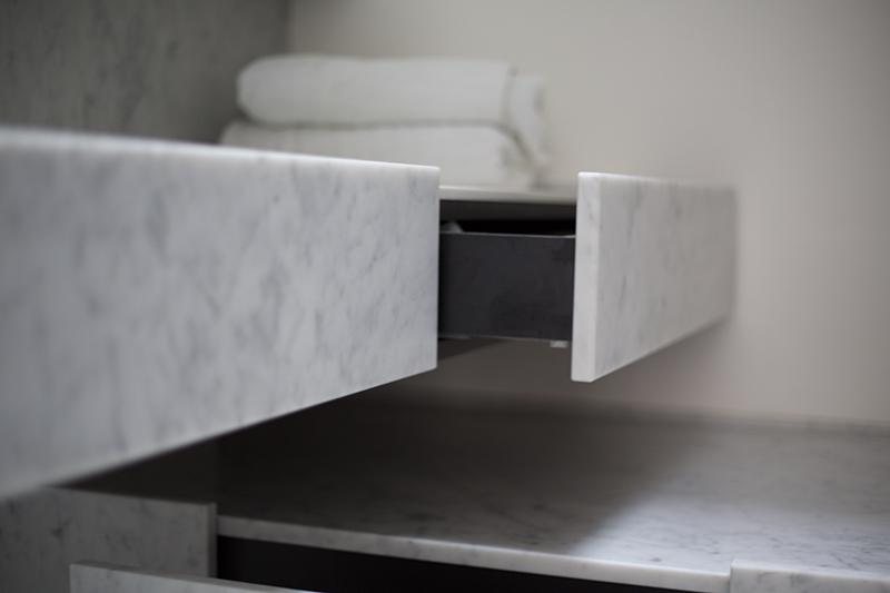 Badkamer Met Marmer : Badkamer in marmer atelier mitch